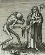 Basle-Dance of Death--Abbess - Version 2