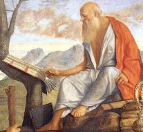 St. Jerome--1513-Bellini