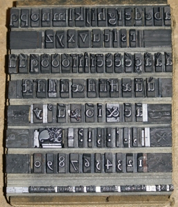 16th century type--Moyen Canon Romain