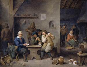 figuresgamblingnatavern1670David Teniers