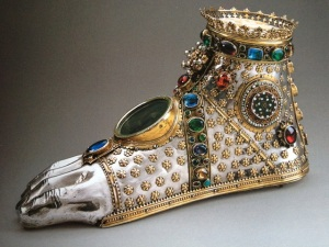 foot reliquary
