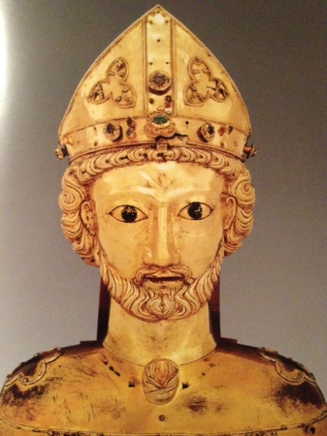 reliquary bust of St. Pantalus